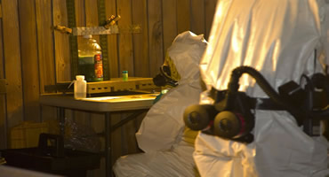 Clandestine Drug Lab Photos